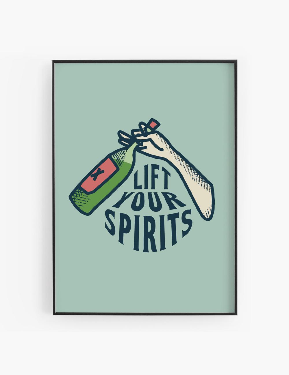 Lift your Spirits, poster